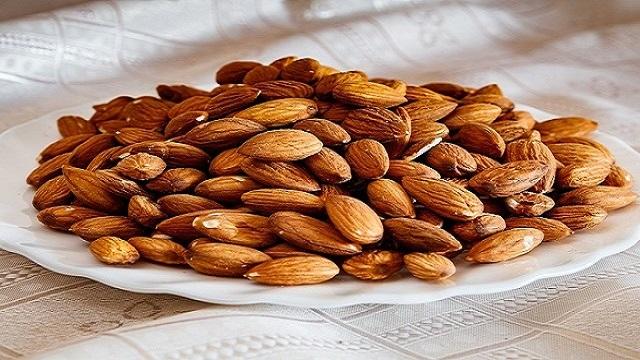 almonds dry